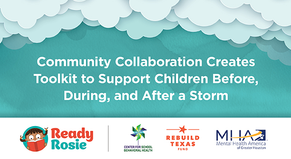 image for Community Collaboration Creates Toolkit to Support Children Before, During, and After a Storm