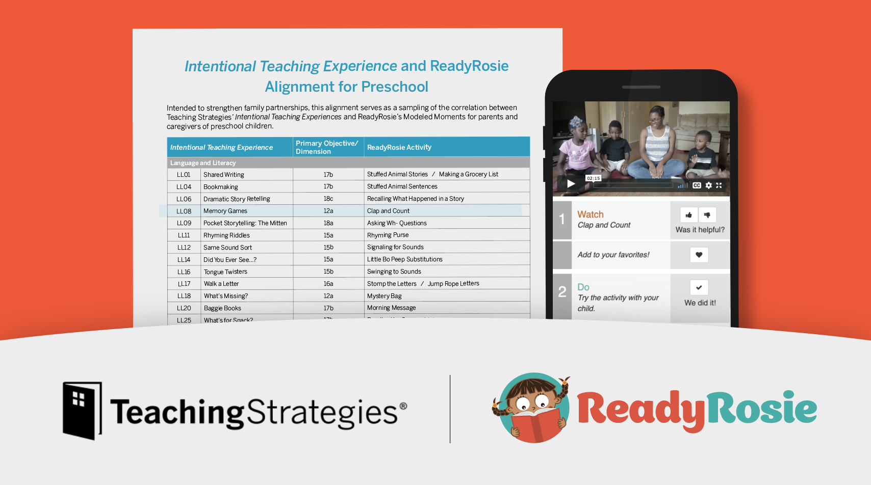 image for ReadyRosie & Teaching Strategies Empower Partnerships That Connect Family Engagement to Learning and Development